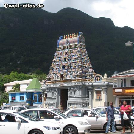 einziger Hindutempel der Seychellen,Quincy Street, Victoria