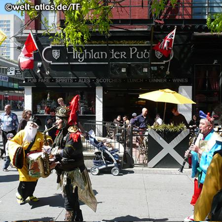 Straßenszene downtown Ottawa beimByward Market