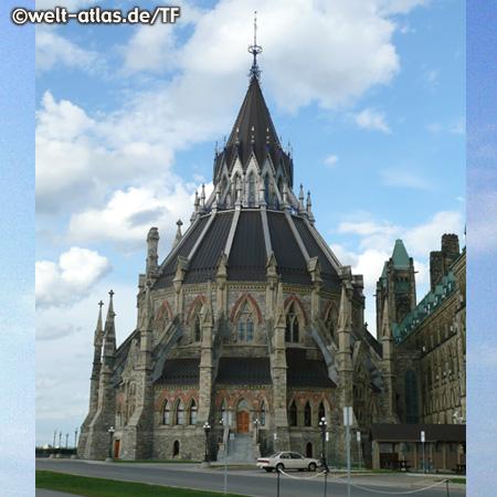 Bibliothek der Parliament Buildings