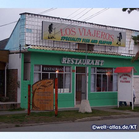 Puerto Natales, kleine Hafenstadt in Chile, Ausgangspunkt für Touren in den Nationalpark Torres del Paine