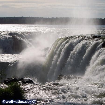 von Iguaçu und Paraná an der Grenze zwischen Argentinien und Brasilien, UNESCO-Welterbe