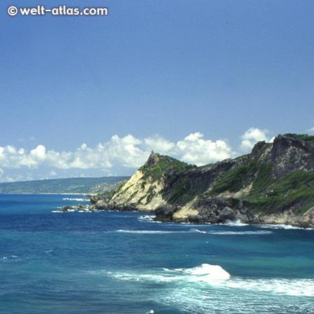 Barbados, Aussichtspunkt Pico Teneriffe an der wilden Nordostküste
