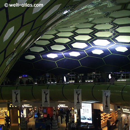 Airport Abu Dhabi, lounge, UAE