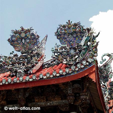 Chinesischer Tempel in Georgetown, Penang