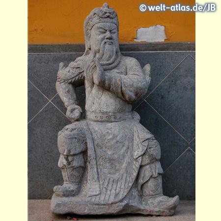 Steinerne Wächterfigur, China