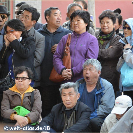Group of chinese people, Beijing