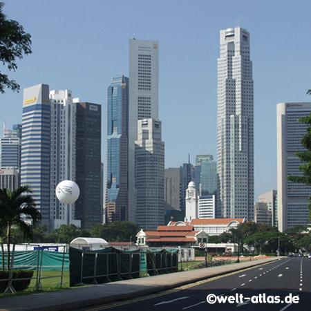 Clocktower in Singapur, Zentrum