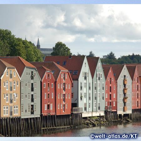 Speicher in Trondheim am Nidelv