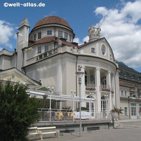 The Kurhaus in Merano, beautiful Art Nouveau building, Passerpromenade