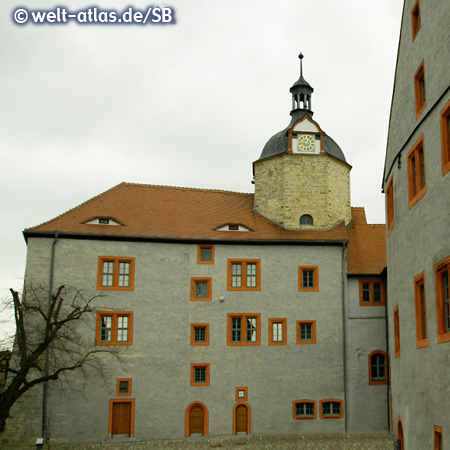 The Old Castle in Dornburg an der Saale in Thuringia