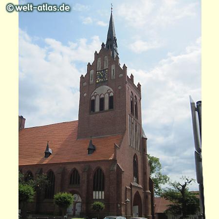 St.-Marien-Kirche, Pfarrkirche der Stadt Usedom