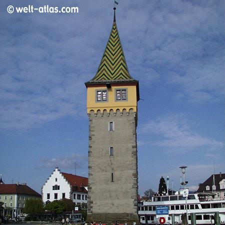 Der Mangenturm in Lindau am Bodensee