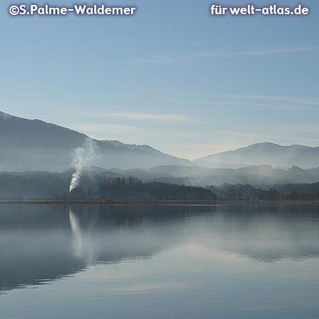 Staffelsee, lake in Upper Bavaria