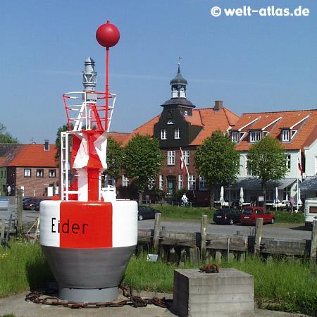 Im Hafen von Tönning, an der Eider, Schleswig-Holstein