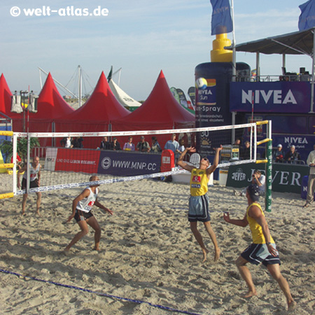 Beach-Volleyball Masters inSt. Peter-Ording