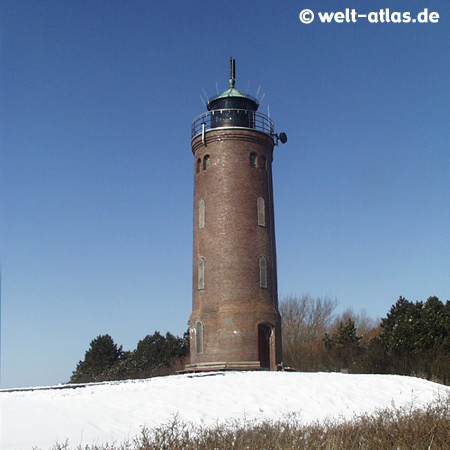 Böhler Leuchtturm im Winter,St. Peter-OrdingPosition: 54° 17' N - 008° 39' E
