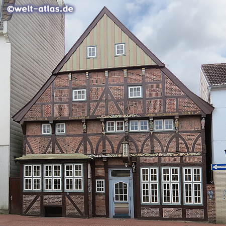 The oldest town house of Rendsburg, built in 1541