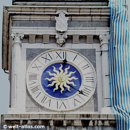 Clock Tower, Udine, Italy