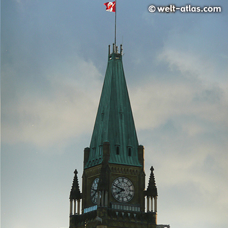 Clock of the Peace Tower, Tower of Victory and Peace, Parliament Buildings, Ottawa