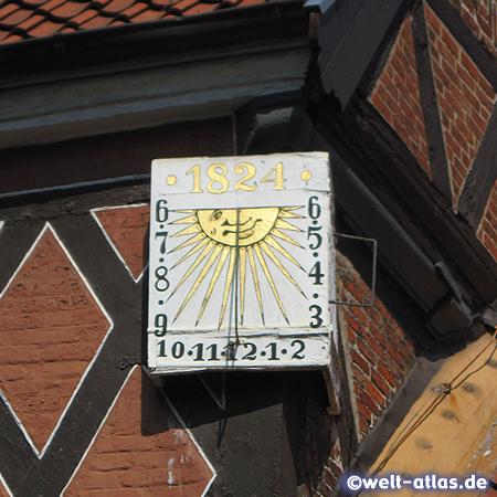Sundial in Stade