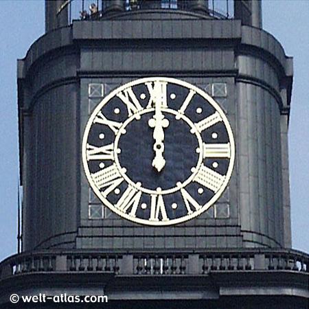Die Kirchturmuhr des Michel, Hamburg