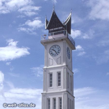 Clock Tower in Bukittinggi, Minangkabau highlands