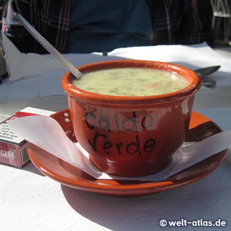 Portuguese potato soup Caldo Verde