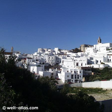 Vejer de la Frontera, weisses Dorf an der Costa de la Luz