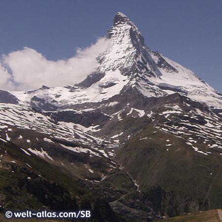 Blick auf das Matterhorn, Schweiz