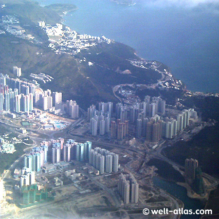In the approach on Hong Kong