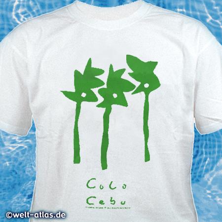 T-Shirt von Cebu, PhilippinenErinnerung an den Urlaub