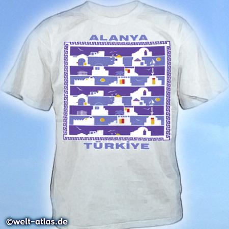 T-Shirt aus AlanyaErinnerung an den Urlaub in der Türkei