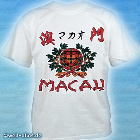 T-Shirt von Macau, ChinaErinnerung an den Urlaub