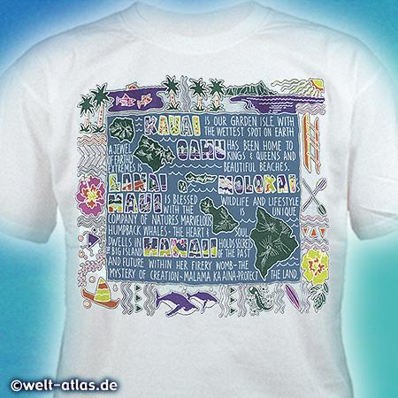 Urlaubs-T-Shirt...Mitbringsel zur Erinnerung an Hawaii