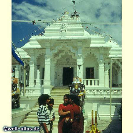 Hindu temple in Mombasa