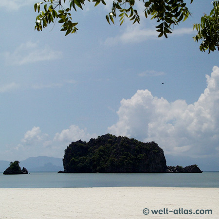 Langkawi, Tanjung Rhu,beach and island, Malaysia