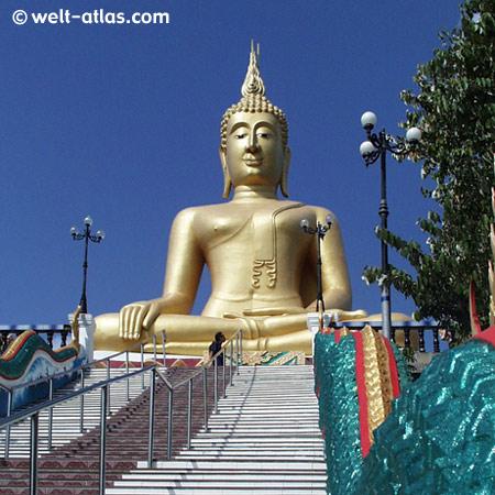 Koh Samui, Big Buddha, Thailand