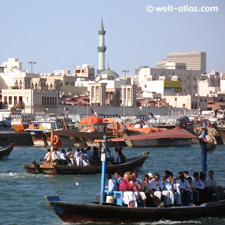 Dubai, Creek, water taxi, UAE