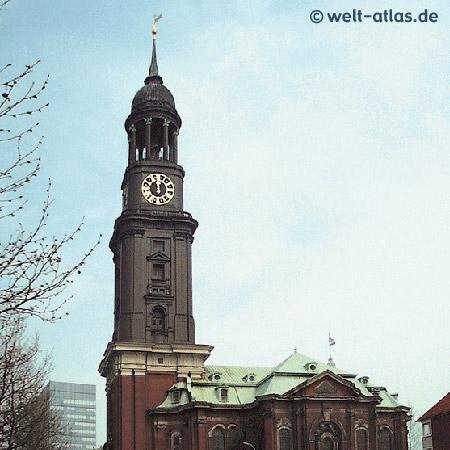 Kirche St. Michaelis, Michel, eines der Hamburger Wahrzeichen