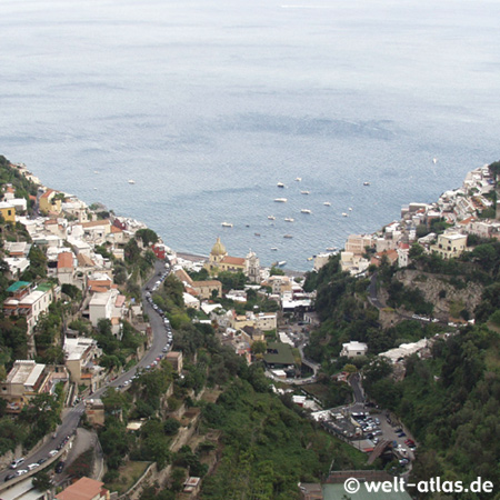 Positano, AmalfitanaView from the Montains