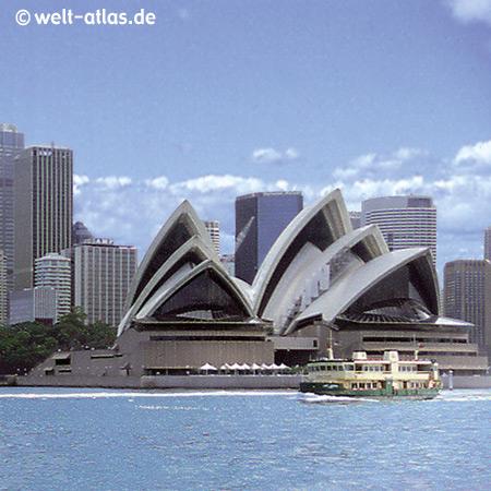 Sydney, Oper, Skyline