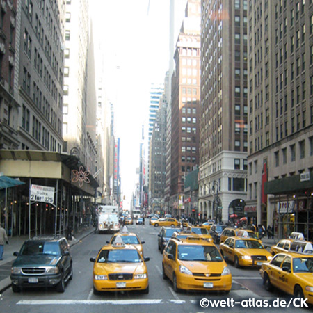 Yellow Cabs, 33rd Street