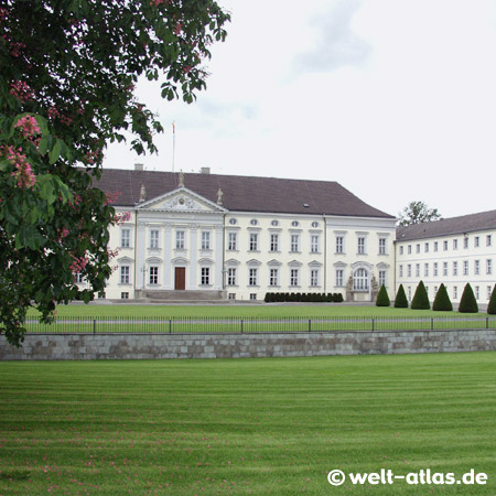 Berlin, Schloss Bellevue, official residence of the President of Germany
