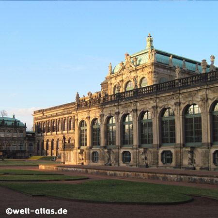 The Zwinger, palace in Dresden