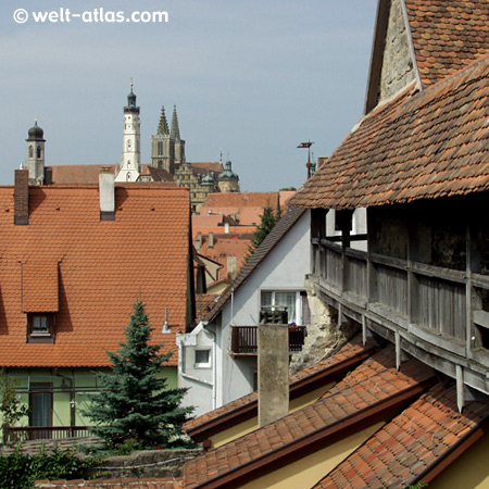 Rothenburg o. d.Tauber, towers