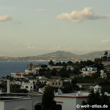 Casamicciola auf Ischia, Insel im Golf von Neapel