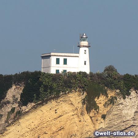 Leuchtturm am Capo Miseno im Golf von Neapel, Italien,Position: 40°47'N  14°05'E