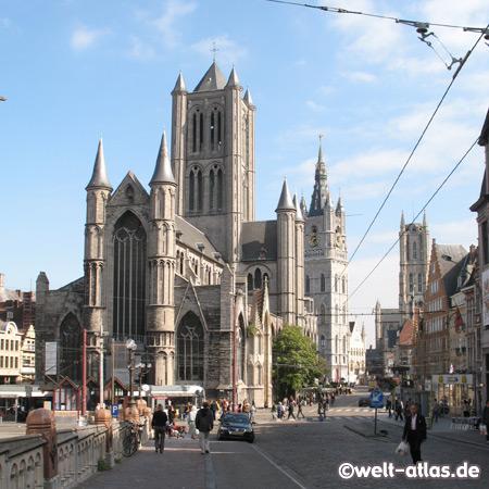 St.-Nikolaus-Kirche, Belfried, Gent