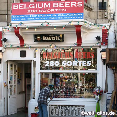 280 Sorten Belgische Biere, Antwerpen