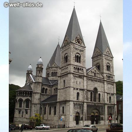 Église Notre-Dame et Saint-Remacle, Liebfrauenkirche in Spa, Belgien
